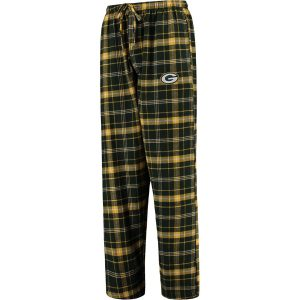 Concepts Sport Green Bay Packers Green Ultimate Plaid Flannel Pajama Pants