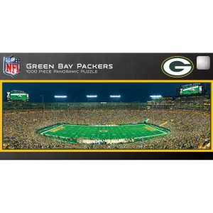 Green Bay Packers 1000-Piece NFL Stadium Panoramic Puzzle