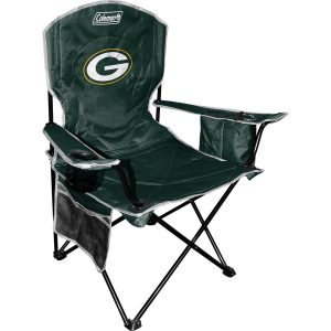Green Bay Packers Coleman Green Cooler Quad Chair