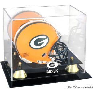 Green Bay Packers Fanatics Authentic Golden Classic Mini Helmet Display Case