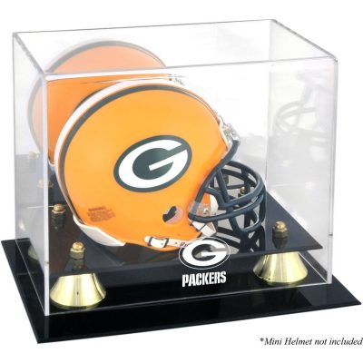 Green Bay Packers Fanatics Authentic Golden Classic Mini Helmet Display Case