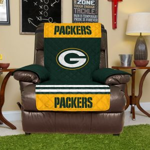 Green Bay Packers Green Recliner Protector