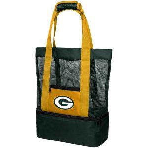 Green Bay Packers Mesh Cooler Beach Tote Bag