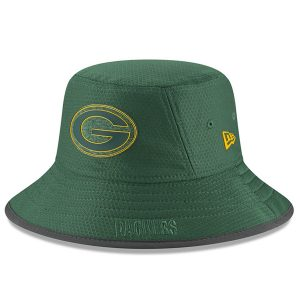 Green Bay Packers New Era 2018 Training Camp Primary Bucket Hat