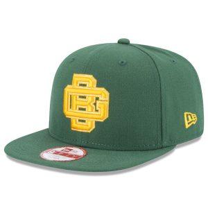 Green Bay Packers New Era GB Historic Logo Baycik 9FIFTY Snapback Adjustable Hat