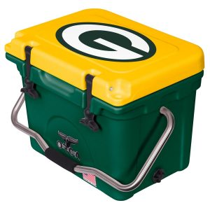Green Bay Packers ORCA Green/Yellow 20-Quart Hard-Sided Cooler