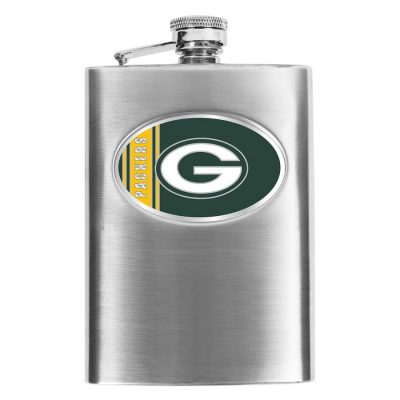 Green Bay Packers Stainless Steel Flask