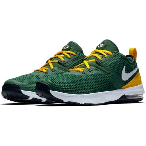 Nike Green Bay Packers Green/Gold Air Max Typha 2 Shoes