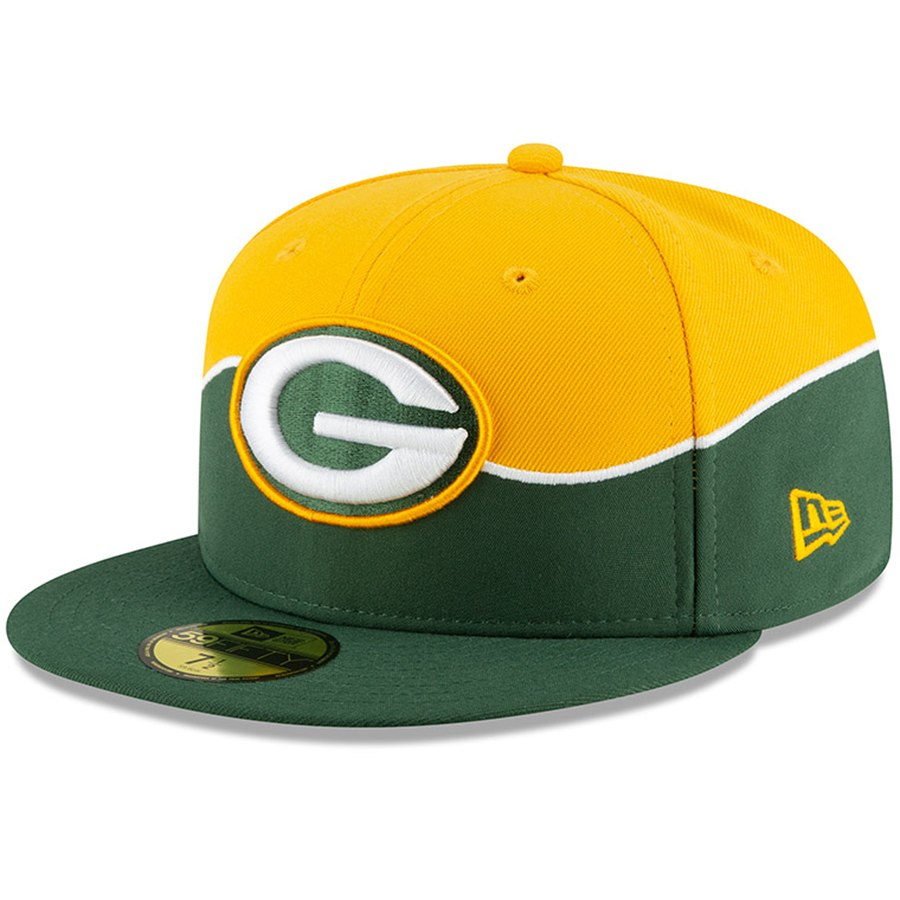 uk store best supplier performance sportswear Green Bay Packers New Era 2019 NFL Draft On-Stage Official 59FIFTY ...