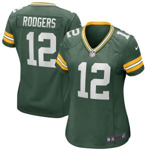Aaron Rodgers Green Bay Packers Nike Women's Game Player Jersey