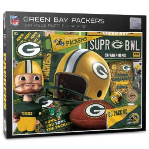 Green Bay Packers 500-Piece Retro Series Puzzle