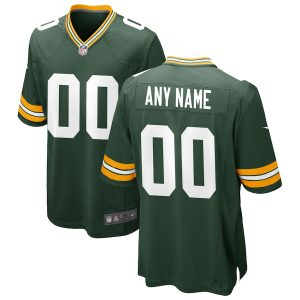 Green Bay Packers Nike Custom Game Jersey