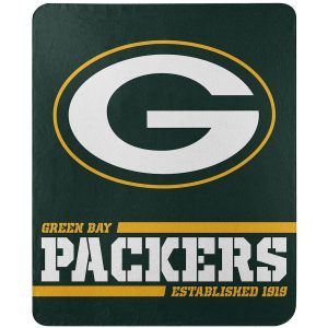 "Green Bay Packers The Northwest Company 50"" x 60"" Split Wide Fleece Throw Blanket"