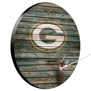 Green Bay Packers Weathered Design Hook and Ring Game