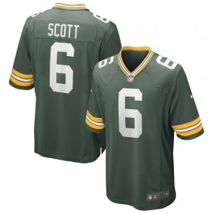 JK Scott Green Bay Packers Nike Game Jersey