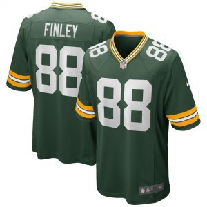 Jermichael Finley Green Bay Packers Nike Game Retired Player Jersey