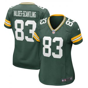 Marquez Valdes-Scantling Green Bay Packers Nike Women's Game Jersey